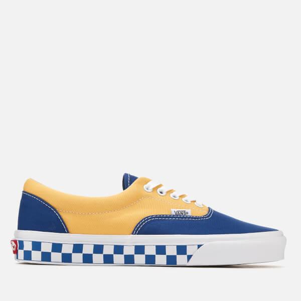 c266ccd3327e48 Vans Men s Era BMX Checkerboard Trainers - True Blue Yellow