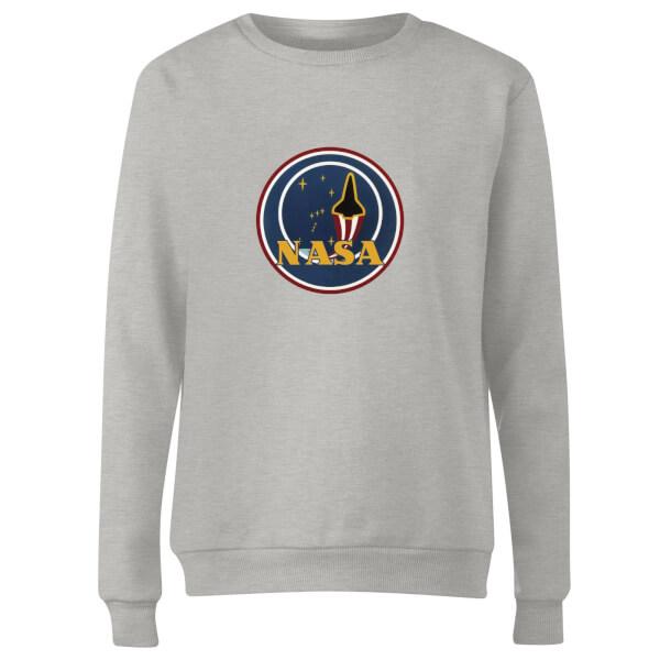 NASA JM Patch Women's Sweatshirt - Grey