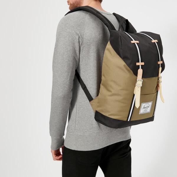 Herschel Supply Co. Men s Retreat Backpack - Cub Black White  Image 3 73dd5124e6390