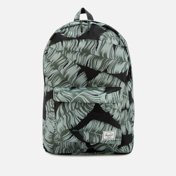 Herschel Supply Co. Men s Classic Backpack - Black Palm  Image 1 e6d34f44e9d85