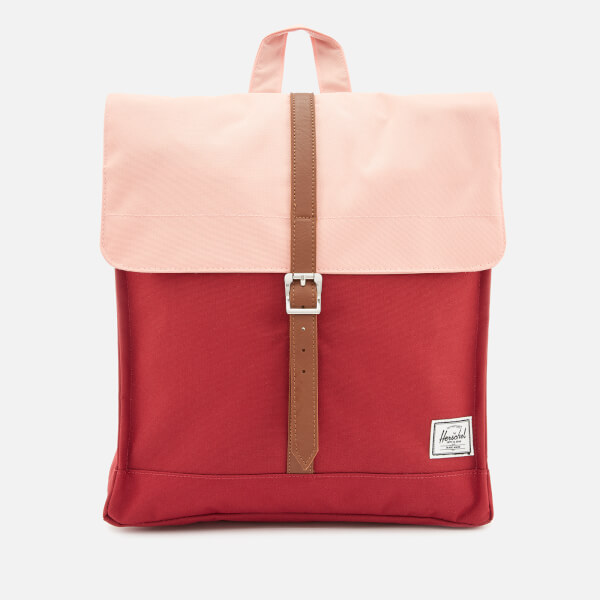 Herschel Supply Co. Women's City Mid-Volume Backpack - Brick Red/Peach