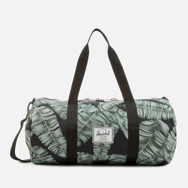 2e29b4f08703 Herschel Supply Co. Men s Sutton Mid-Volume Duffle Bag - Black Palm  Image
