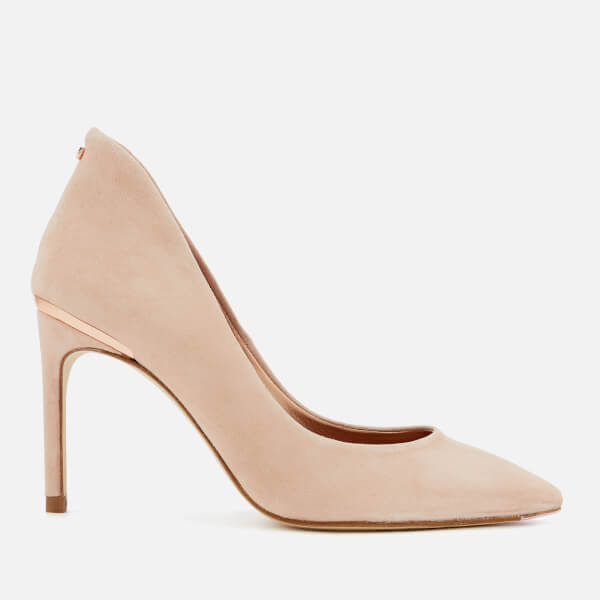 Ted Baker Women's Savio 2 Suede Court Shoes - Nude
