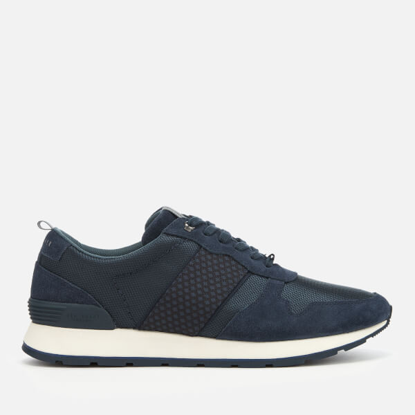 Ted Baker Men's Hebey Runner Style Trainers - Dark Blue