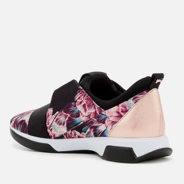 6f75b18f1bb65d Ted Baker Women s Cepap 2 Runner Style Trainers - Tranquility  Image 2