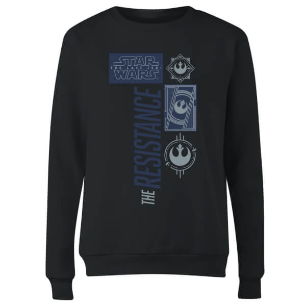 Star Wars The Resistance Black Women's Sweatshirt - Black