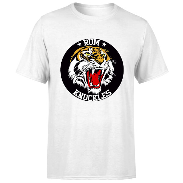 Rum Knuckles Tiger T-Shirt - White