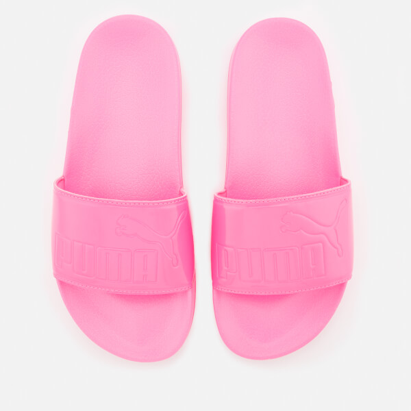 3686f193d09d Puma Women s Leadcat Patent Slide Sandals - Knockout Pink