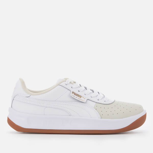 5a594aa75228 Puma Women s California Exotic Trainers - Whisper White Puma White Puma  Team Gold