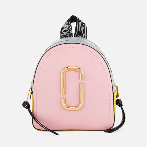 480f61c8e6a3 Marc Jacobs Women s Pack Shot Backpack - Baby Pink  Image 1