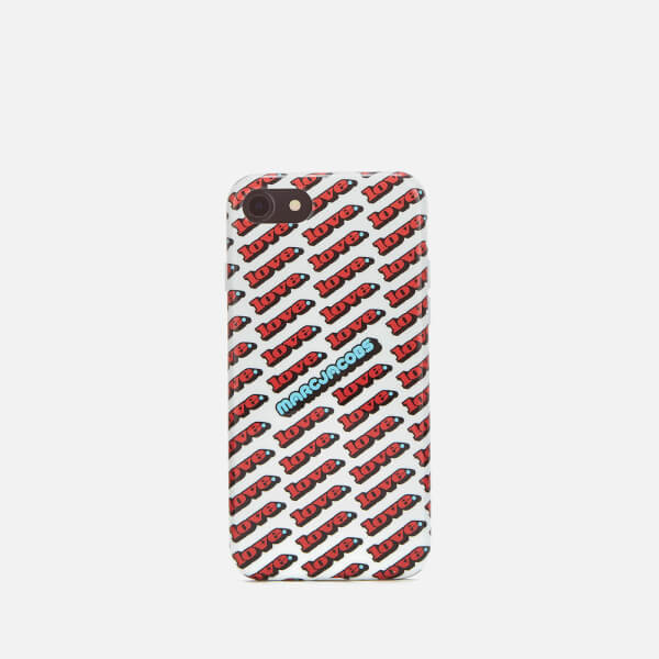 White Love iPhone 8 Case Marc Jacobs Pysrf