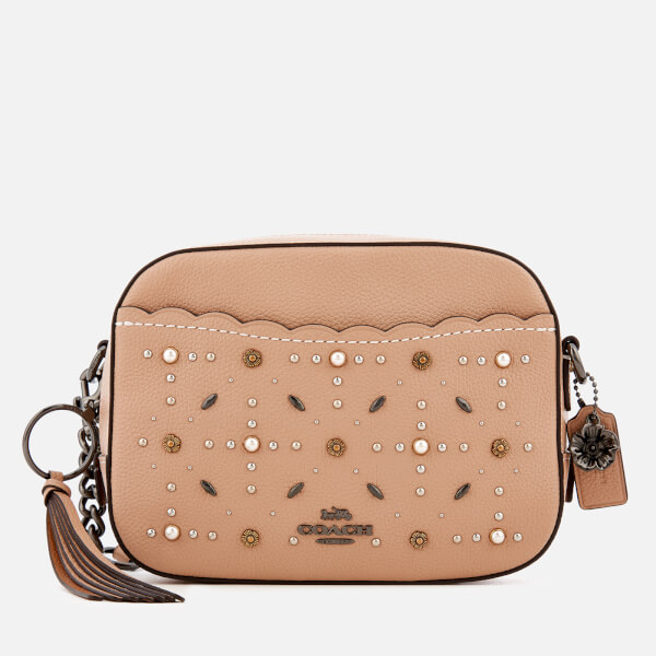 Coach Women's Prairie Rivets Camera Bag - Beechwood