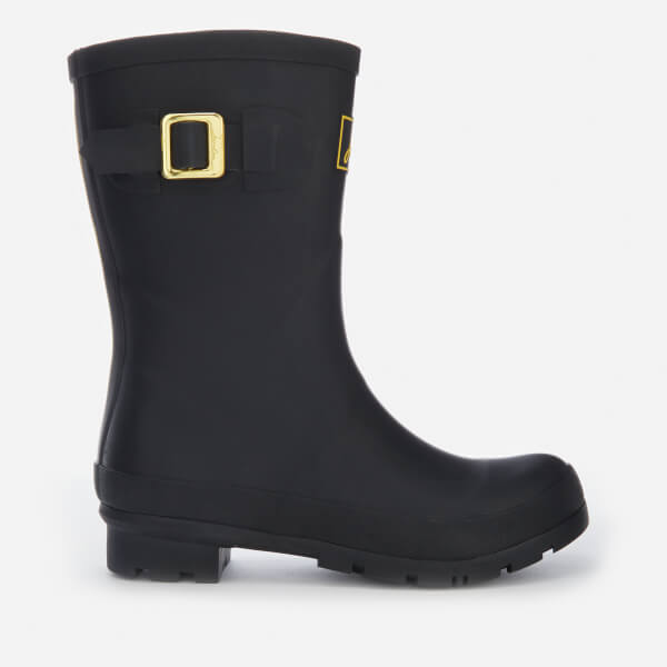 Joules Women's Kelly Mid Height Wellies - Black