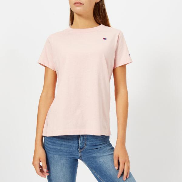 Champion Women's Short Sleeve T-Shirt - Pink: Image 01