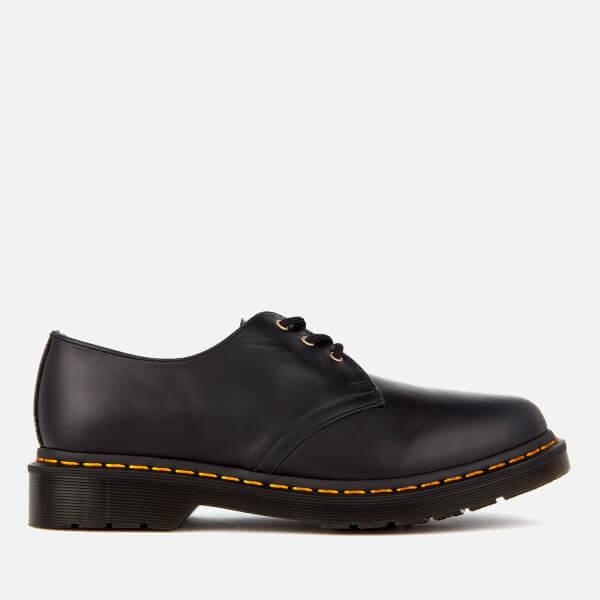 Dr. Martens Men's 1461 Aqua Glide Leather 3-Eye Shoes - DM Navy