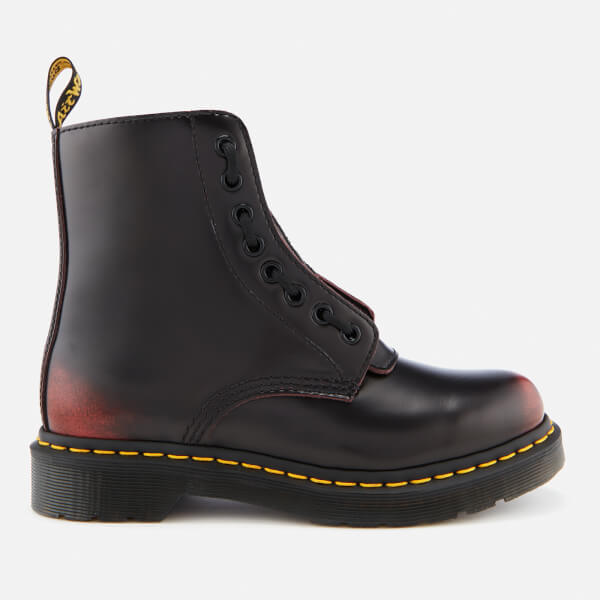02e1c943ca56 Dr. Martens Women s 1460 Pascal Front Zip Arcadia Leather 8-Eye Boots -  Cherry