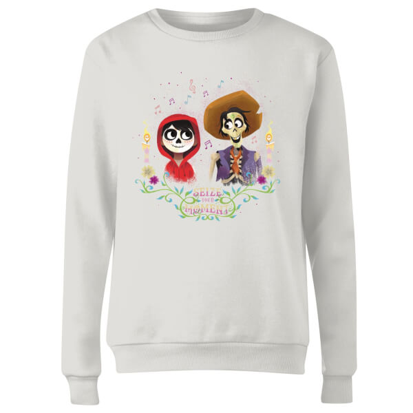 Coco Miguel And Hector Women's Sweatshirt - White