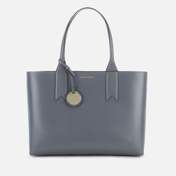 Emporio Armani Women s East West Tote Bag - Grey Clothing ... 2d65f616e9490