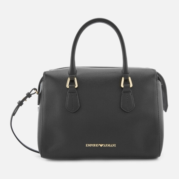 Emporio Armani Women's Boston Top Handle Shopper Bag - Black