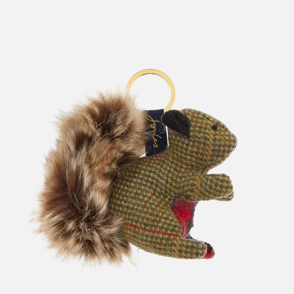 Joules Women's Tweedle Keyring - Squirrel
