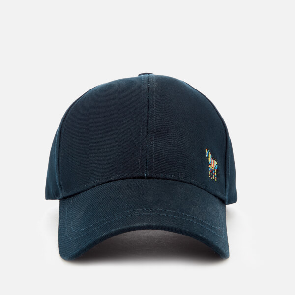 PS Paul Smith Men's Zebra Baseball Cap - Black