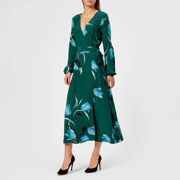 Gestuz Women's Sille Dress - Flower Green