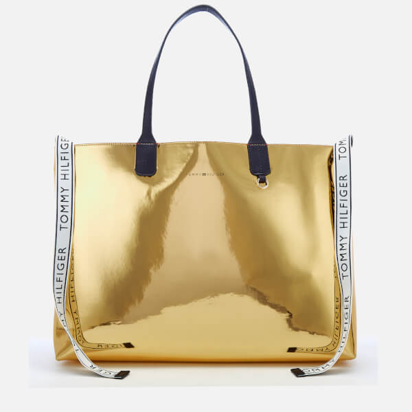 b748210daf Tommy Hilfiger Women's Iconic Tommy Tote Bag - Metallic: Image 1