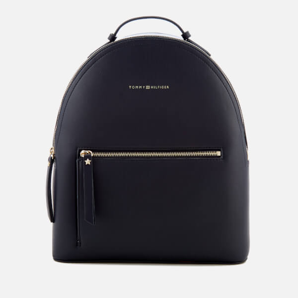 Tommy Hilfiger Women s Iconic Tommy Backpack - Navy  Image 1 9ebde1c2b9