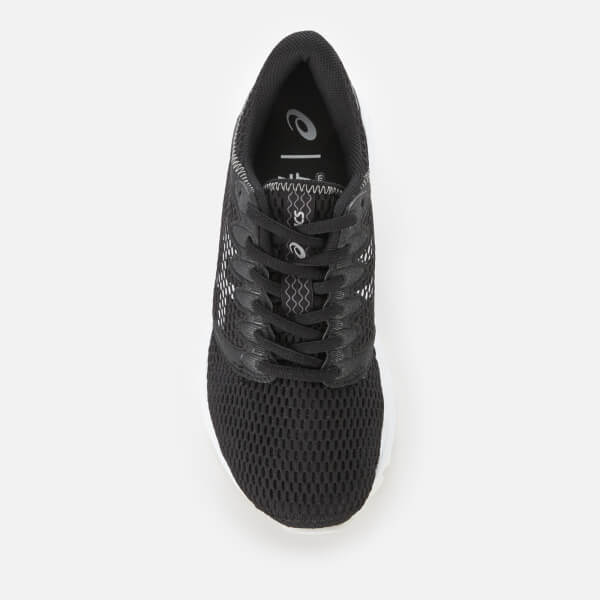 Asics Running Women s Roadhawk FF2 Trainers - Black White Sports ... 216a518a5