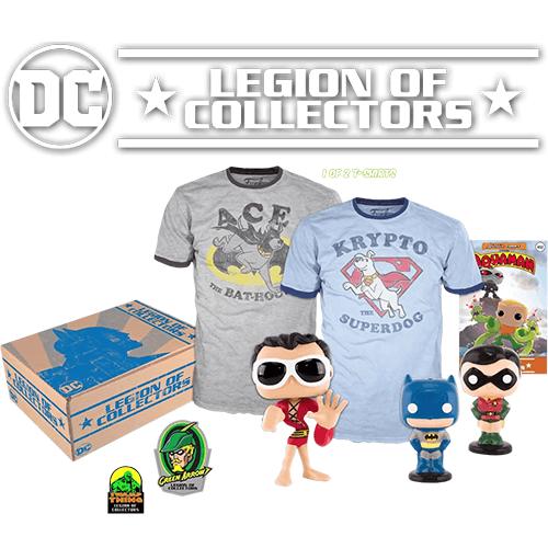 Yu Yu Hakusho Funko Pop Bundle: DC Comics Legion Of Collector's Box - Legacy