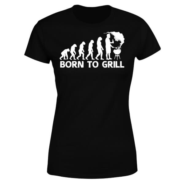 Born To Grill Women's T-Shirt - Black