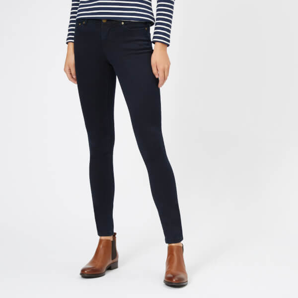 Joules Women's Monroe Skinny Stretch Jeans - Blue Black
