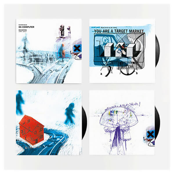 Ok Computer Oknotok 1997 2017 Vinyl