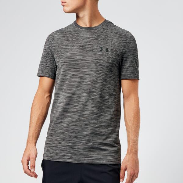 0f500c7e1bb86 Under Armour Men s Vanish Seamless Short Sleeve Top - Charcoal  Image 1