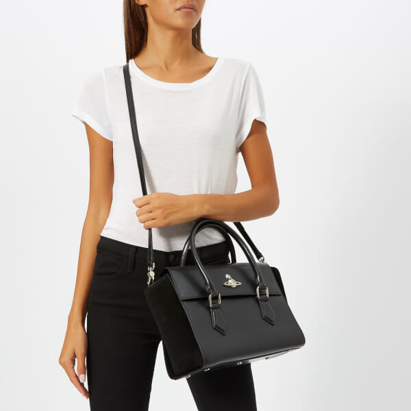 Vivienne Westwood Women s Matilda Medium Tote Handbag - Black  Image 3 ea3992ac8ca87