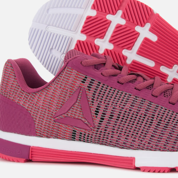 f9bd1abea802d5 Reebok Women s Speed TR Flexweave Trainers - Twisted Berry Pink  Image 4