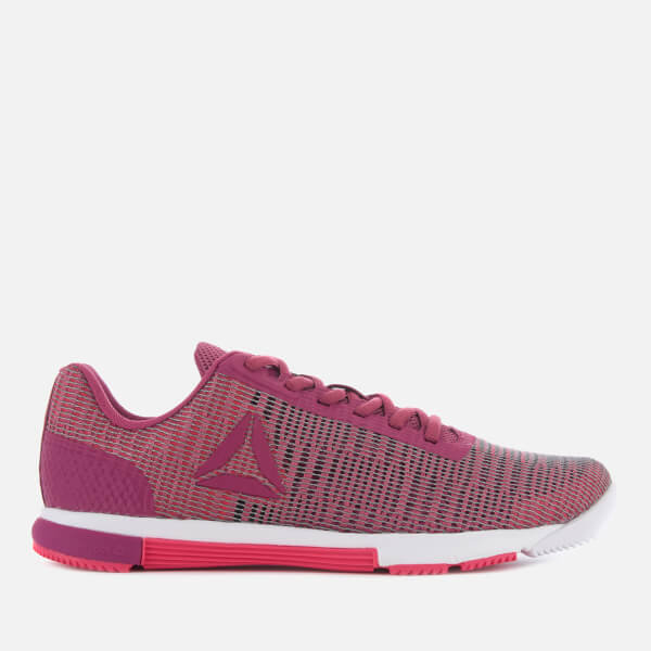 6ea17d8512826f Reebok Women s Speed TR Flexweave Trainers - Twisted Berry Pink  Image 1