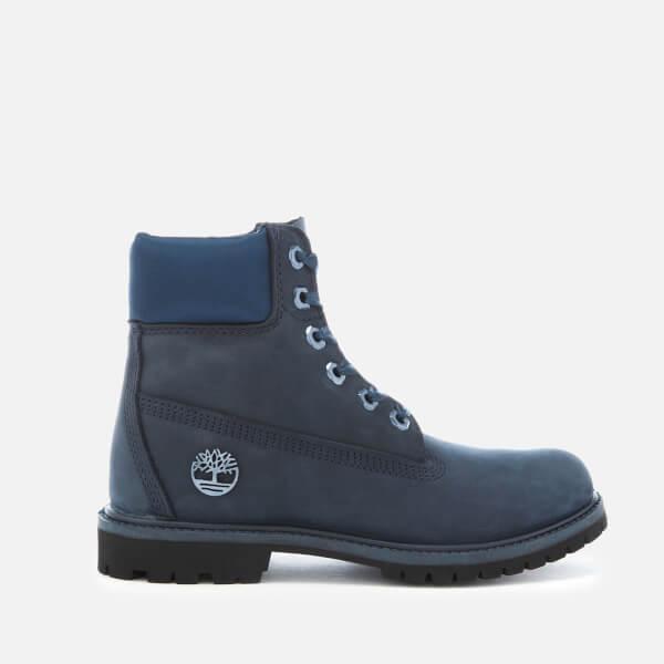 6e91a12bd088 Timberland Women s Chic Satin 6 Inch Waterproof Boots - Black Iris  Image 1