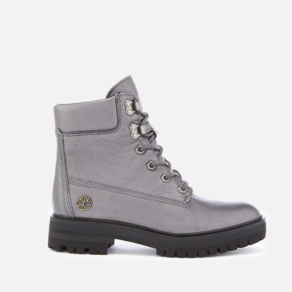 ab2be47533e3 Timberland Women s Metallic London Square 6 Inch Boots - Dark Grey Akita   Image 1