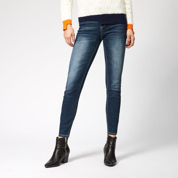 Armani Exchange Women's 5 Pocket Super Skinny Jeans - Indigo Denim