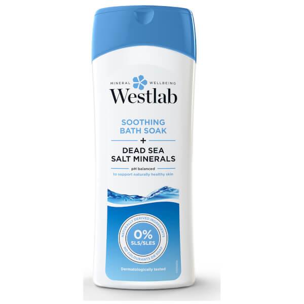Sales de baño relajantes con sal del Mar Muerto de Westlab 400 ml