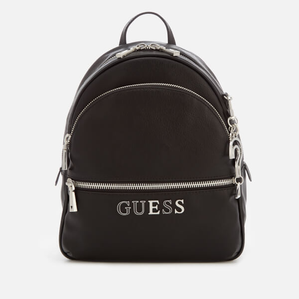 Guess Women's Manhattan Large Backpack   Black by My Bag