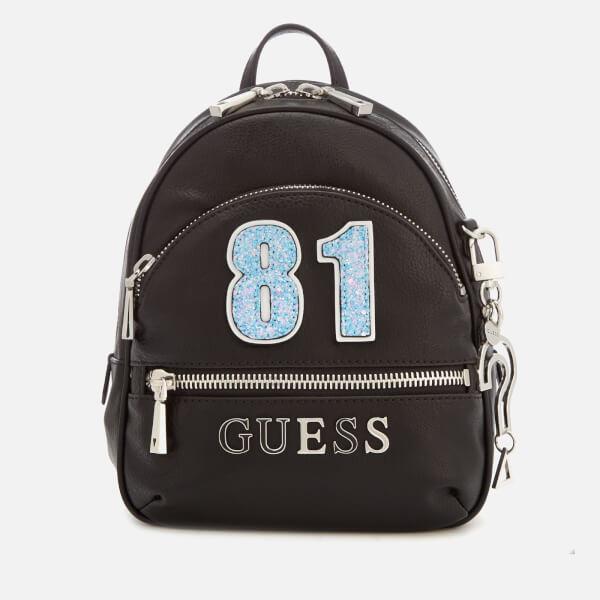 b532059979 Guess Women s Manhattan Small Backpack - Black  Image 1