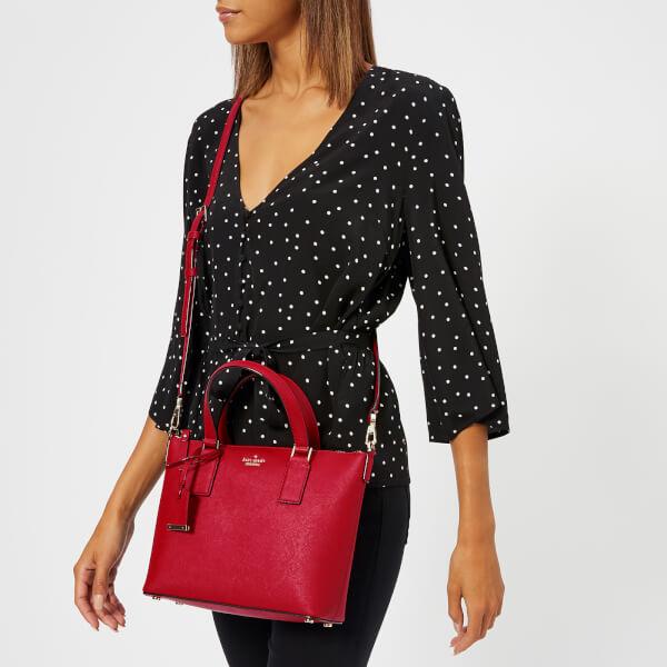 Kate Spade New York Women's Lucie Cross Body Bag - Heirloom Red: Image 21