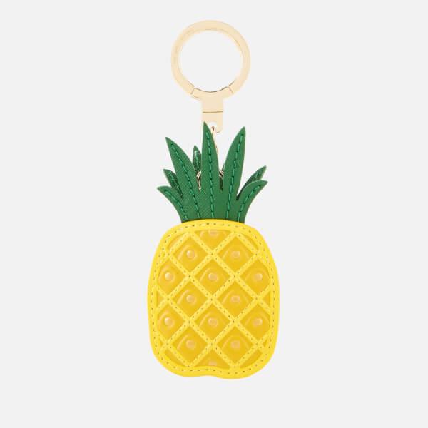 Kate Spade New York Women's Leather Pineapple Keychain - Multi