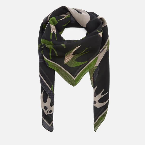 McQ Alexander McQueen Women's Swallow Swarm Scarf - Camouflage