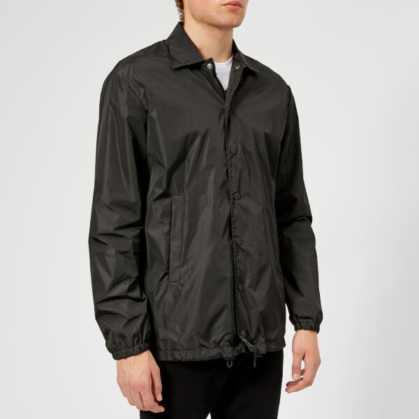 Dsquared2 Men's Nylon Coach Jacket - Black/White Print