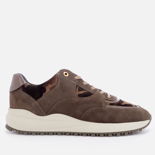 Android Homme Men's Belter 3.0 Suede Runner Style Trainers - Taupe
