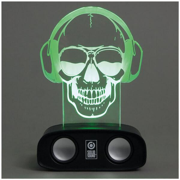 Sound Reactive Speaker - Skull