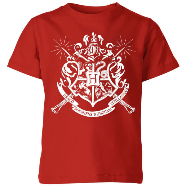 Harry Potter Hogwarts House Crest Kids' T-Shirt - Red